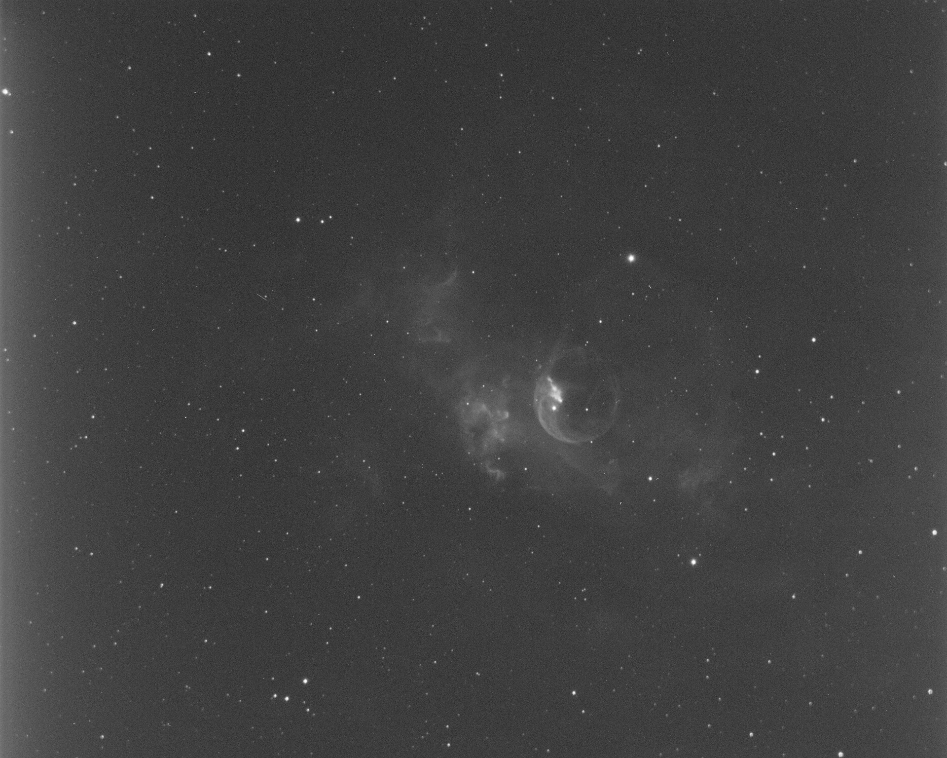 Bubble Nebula - Ha