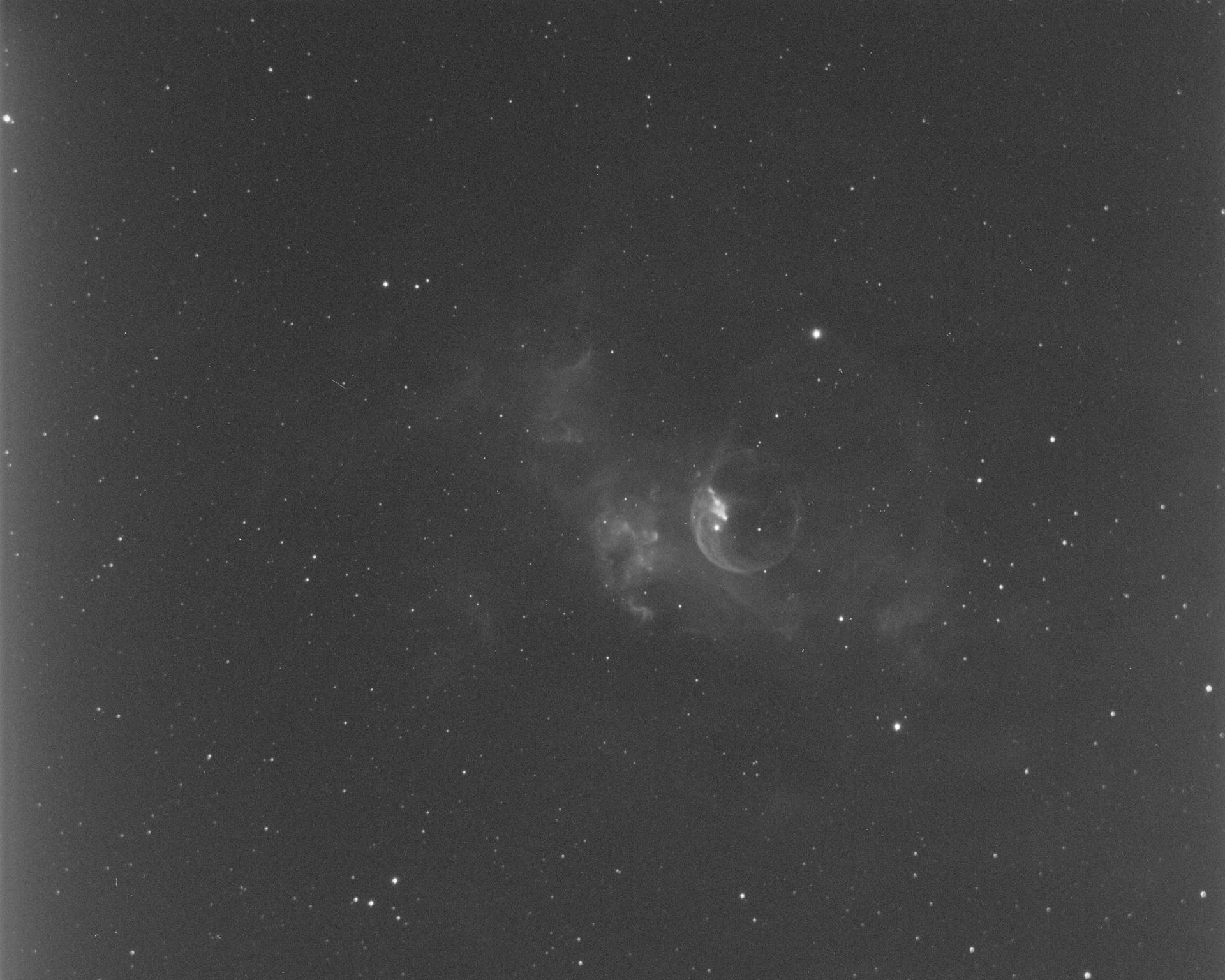 Bubble Nebula - Ha