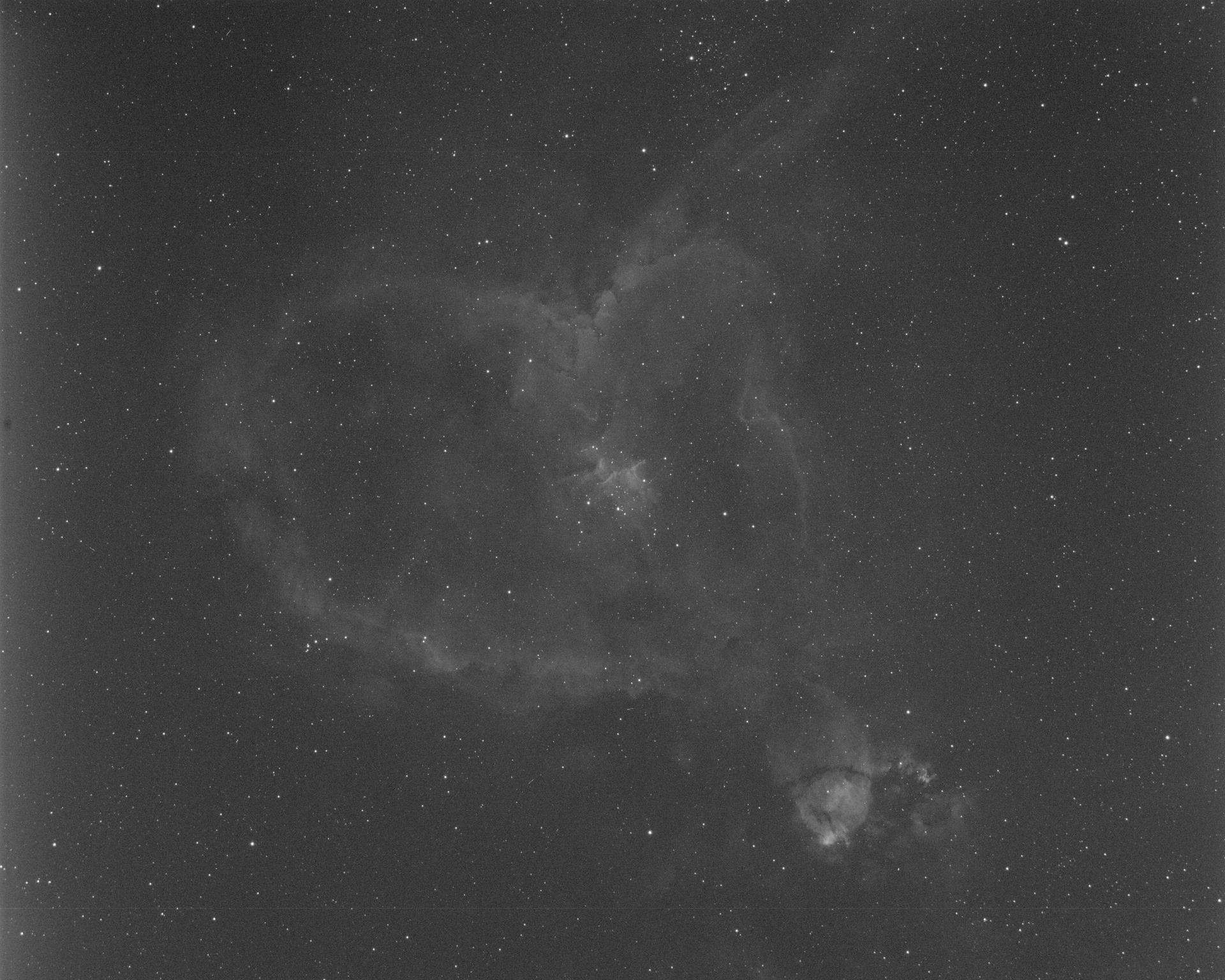 Heart Nebula - Ha