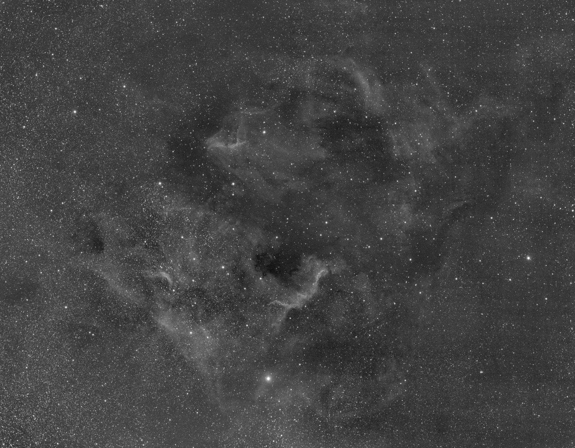North America Nebula - SII