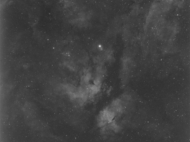 Sadr Region Nebula - Ha