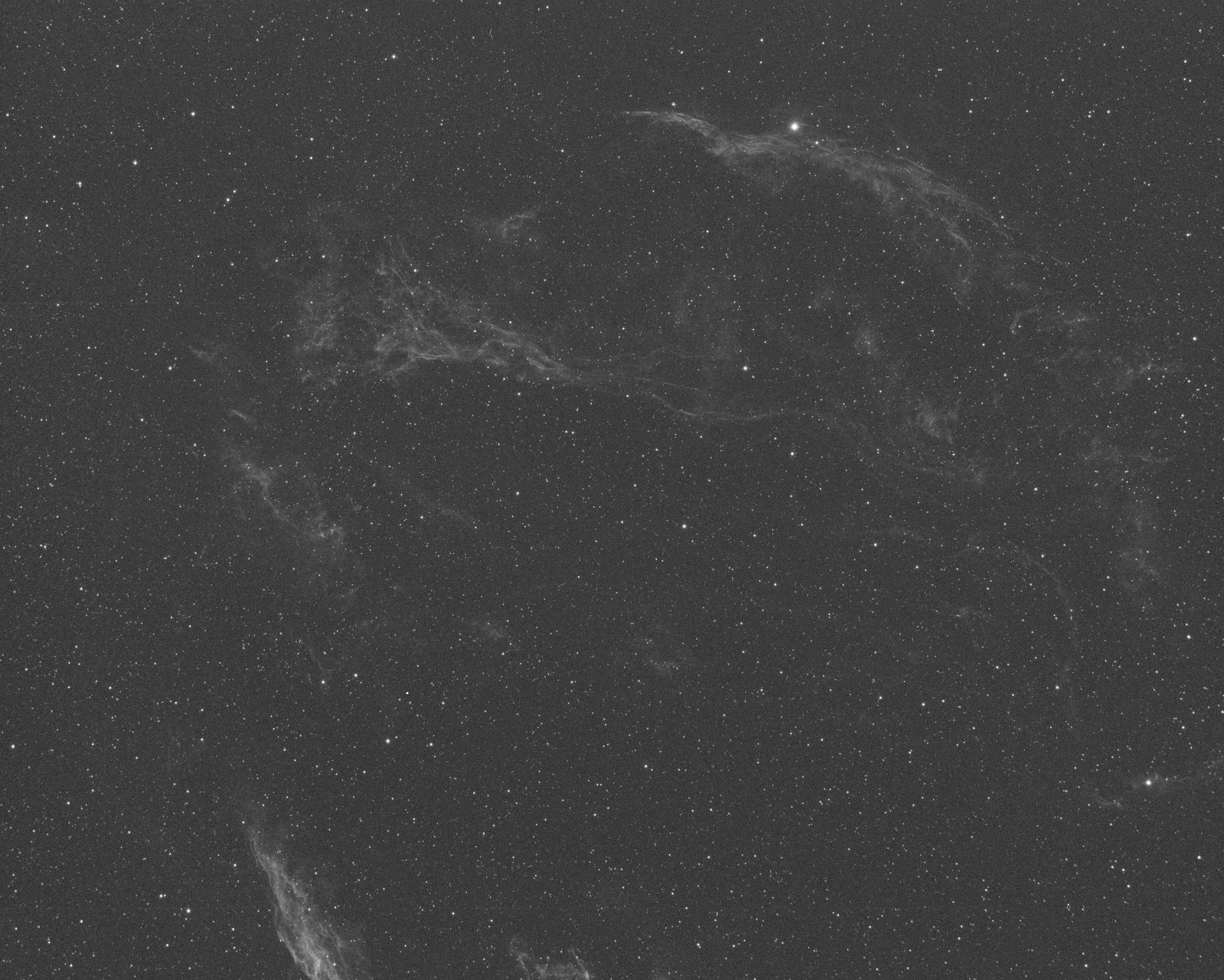 West Veil Nebula - Ha