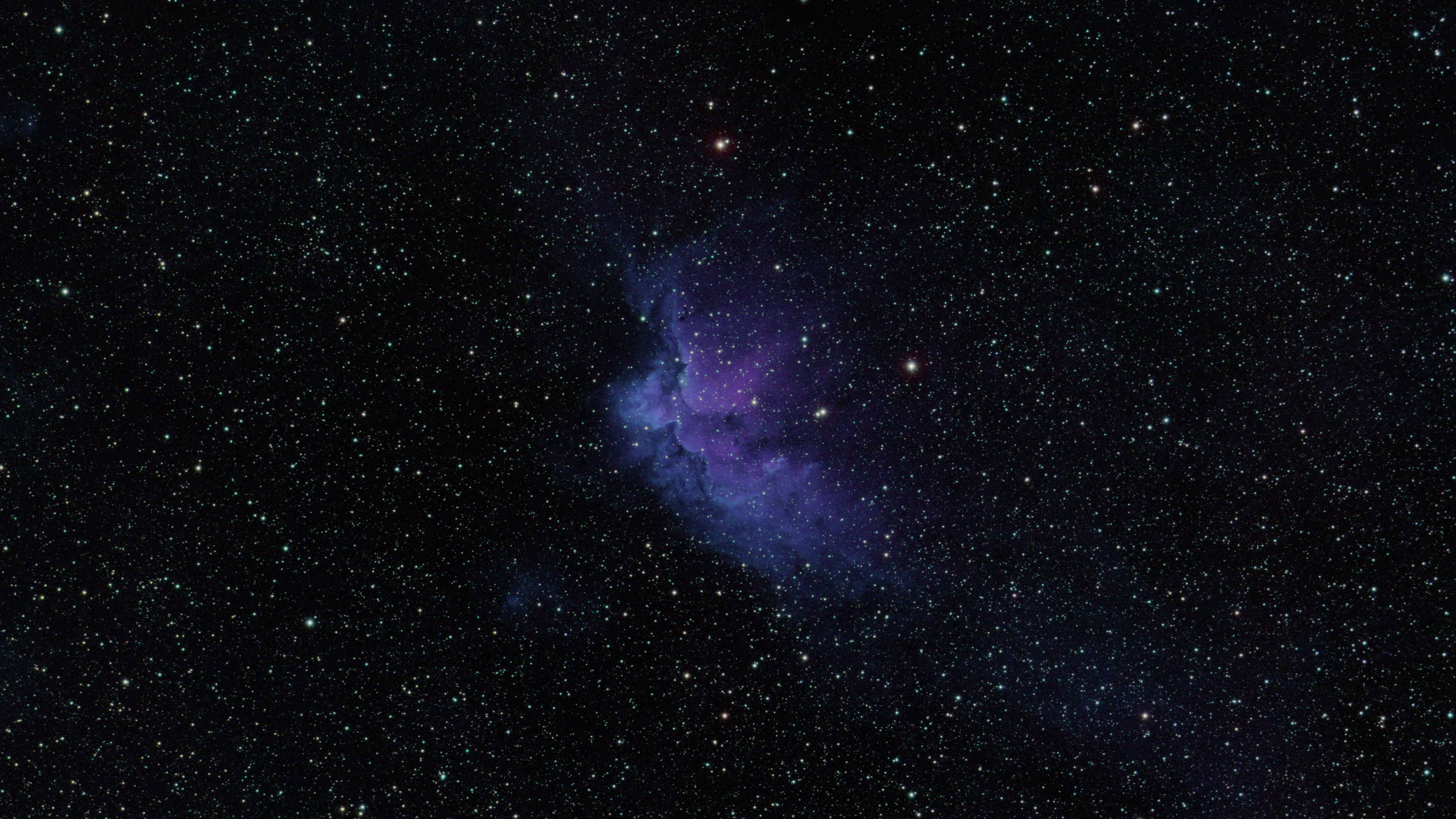 Wizard Nebula - Processed