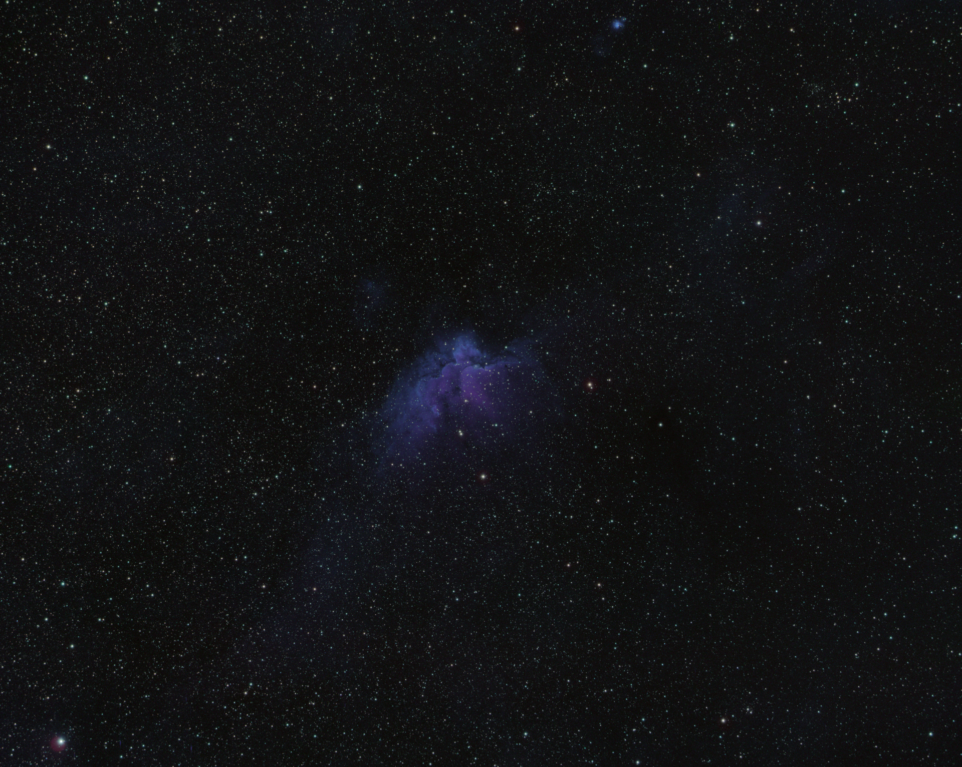 Wizard Nebula - Color Combined