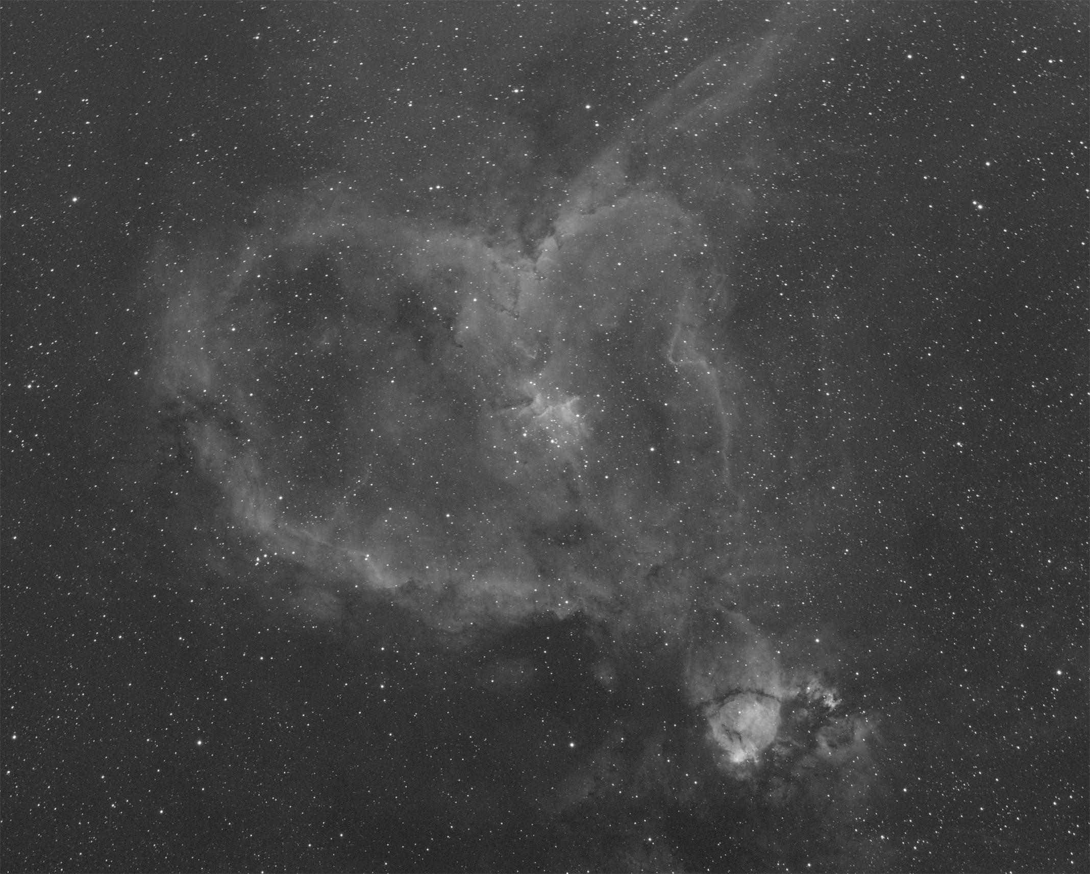 Heart Nebula - Ha