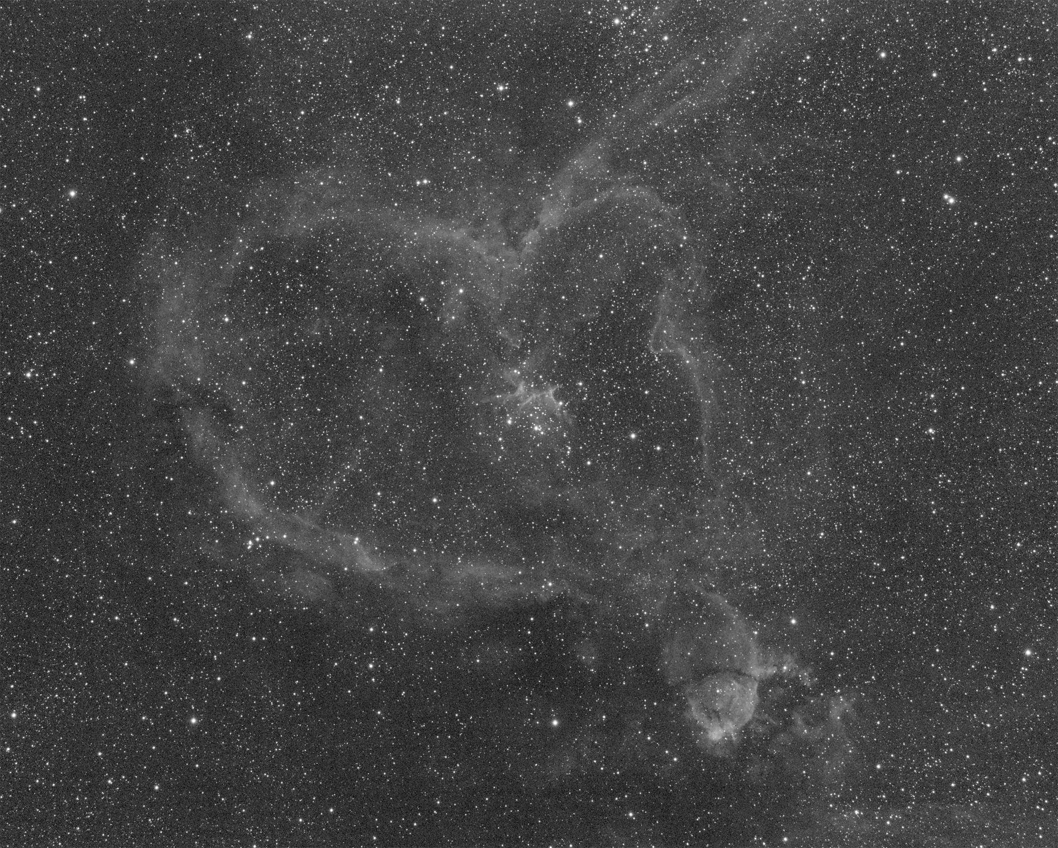 Heart Nebula - SII